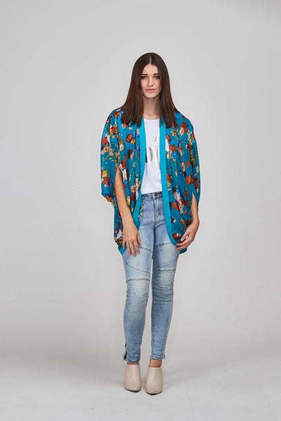 Hollie Kimono Short - Shine Fashion
