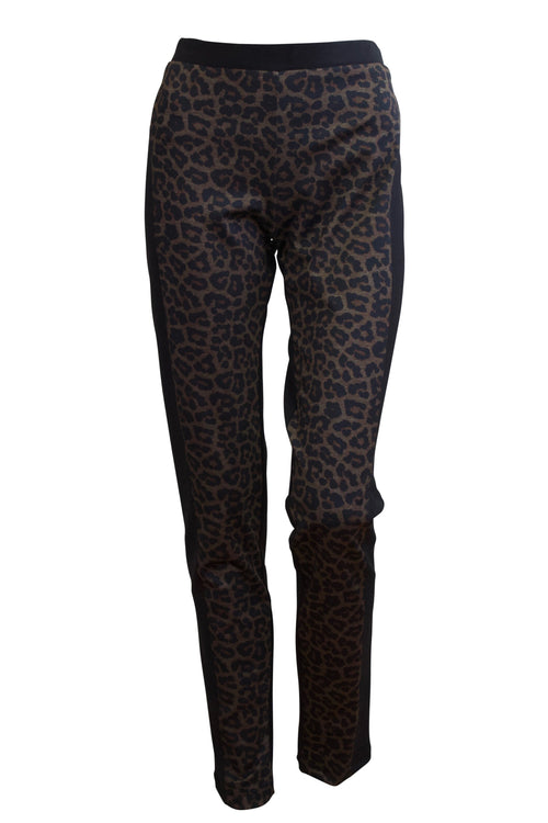 Bittermoon Chaplin Pant - Chocolate Animal Print