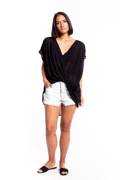 Et Alia Lawrence Top - Black