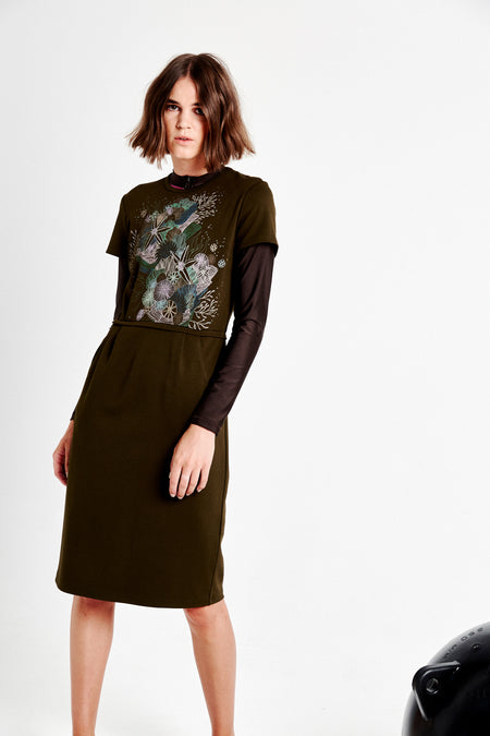 Conor Dress - Olive