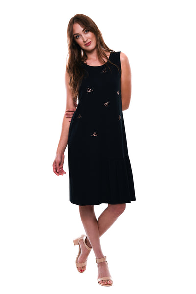 Jasmin Dress - Black - Seduce