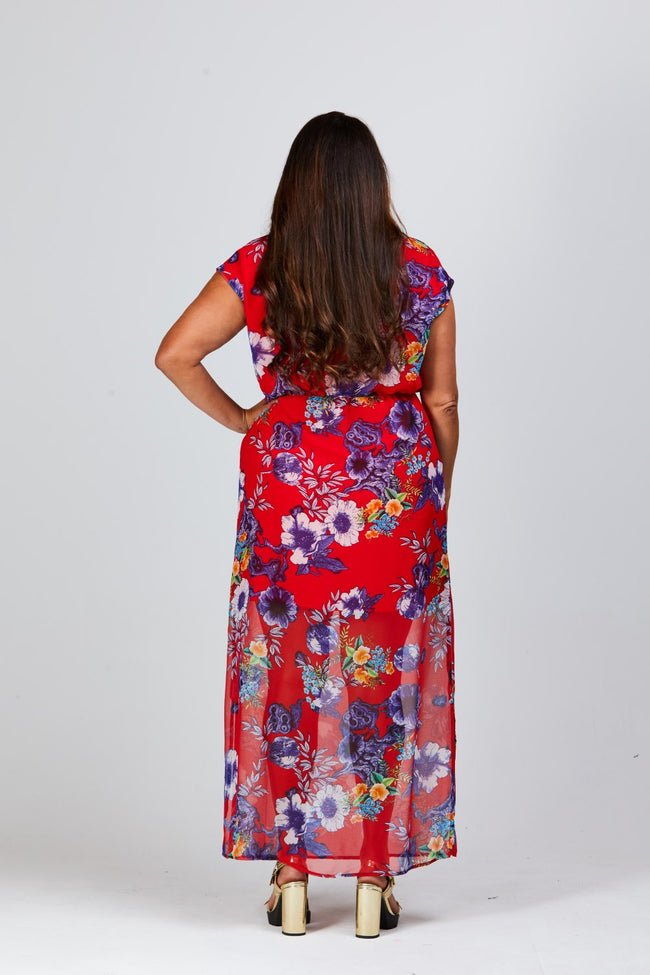 Jaide Maxi Dress - Stella Royal