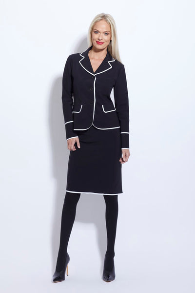 Trim Short Jacket - Paula Ryan