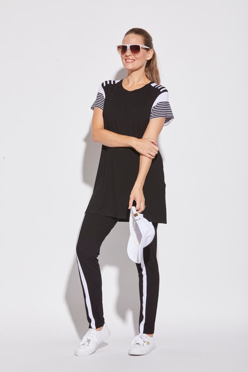 Curved Side Panel Jogger - Paula Ryan