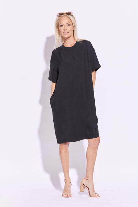 Panelled Sleeve Mesh Yoke Top