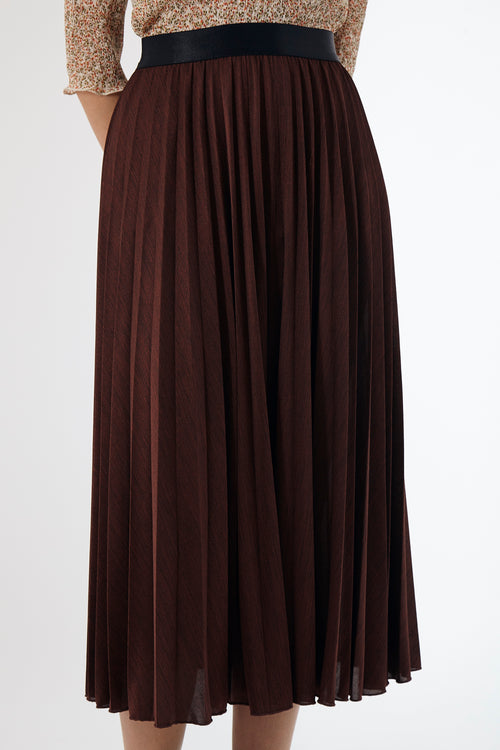 Sunray Skirt - Coffee