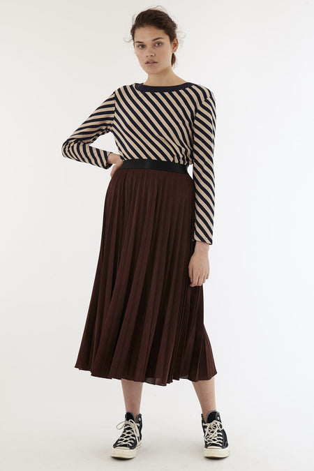 Zig Zag Dress - Olive