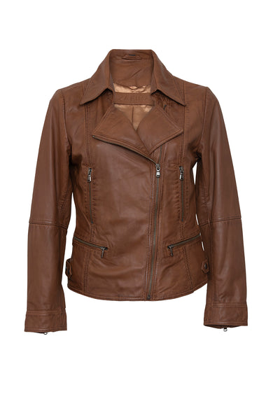 Tour Leather Jacket - Zafina