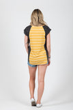 Wallace Top Mustard Stripe