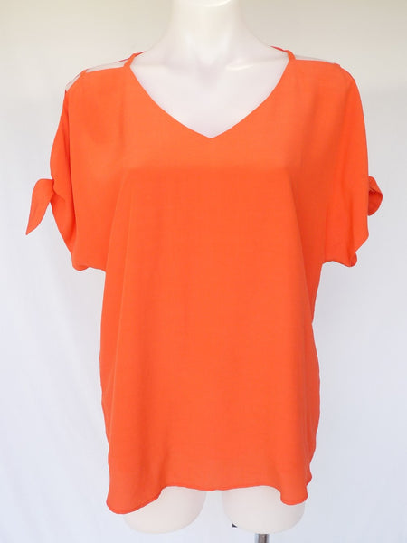 Suri Top - Orange - Zafina