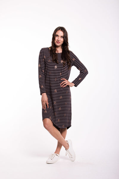 Melody Dress - Charcoal