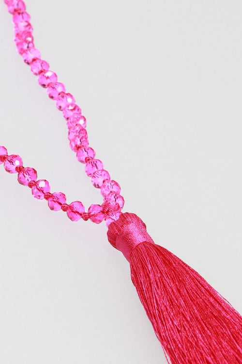 Dazzel Cerise Necklace
