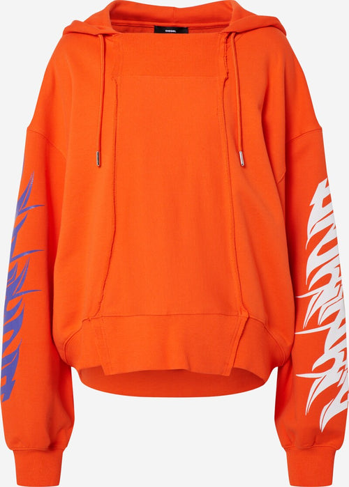 Diesel F-Kreen Sweat - Orange