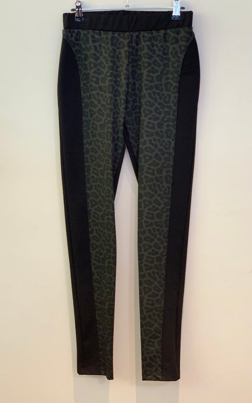 Bittermoon Chaplin Pant - Grey Animal Print