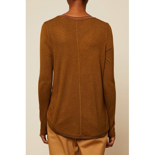 L/S Top Olive - Scotch & Soda