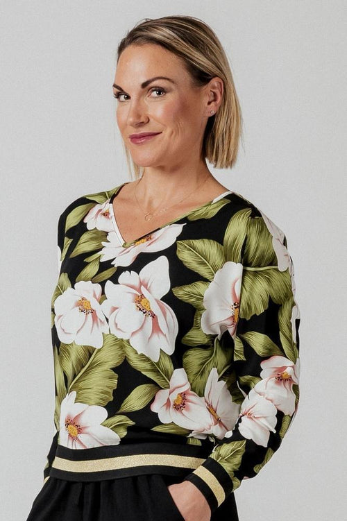 Mi Moso Avery Top - Floral