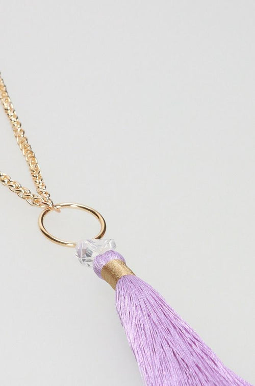 Sparkle Lilac Necklace