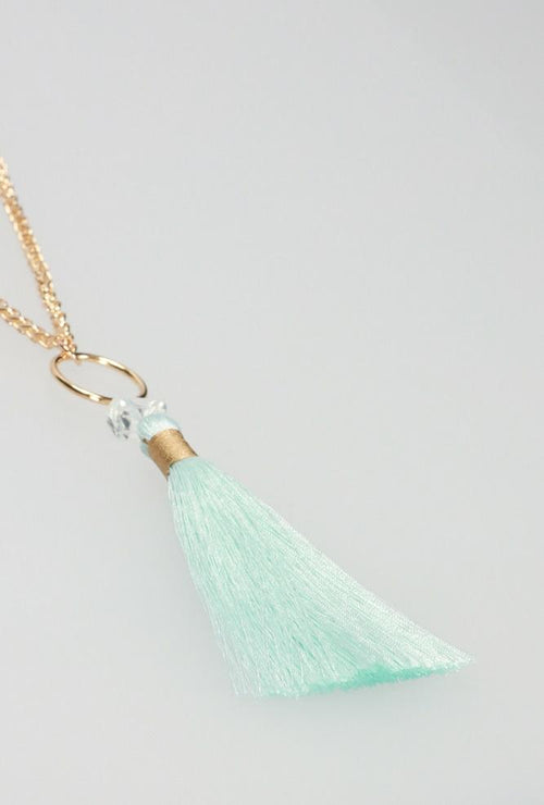 Sparkle Seafoam Necklace
