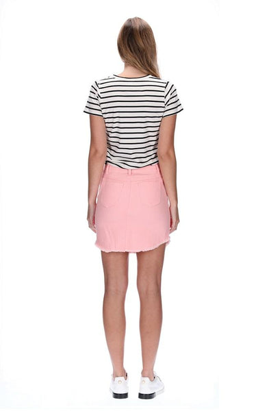 Emma Skirt - Peach