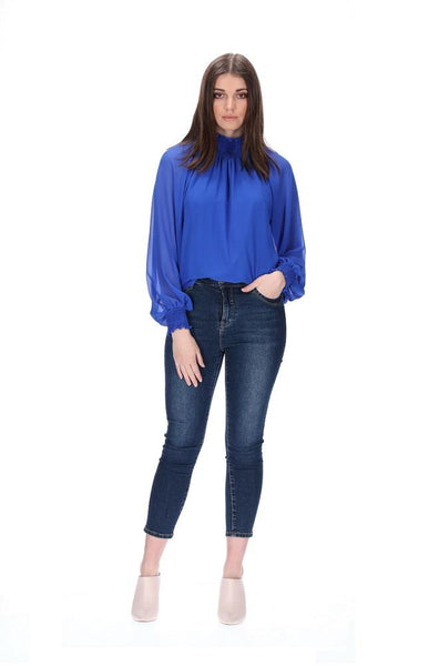 Augustine Seth Top - Royal Blue