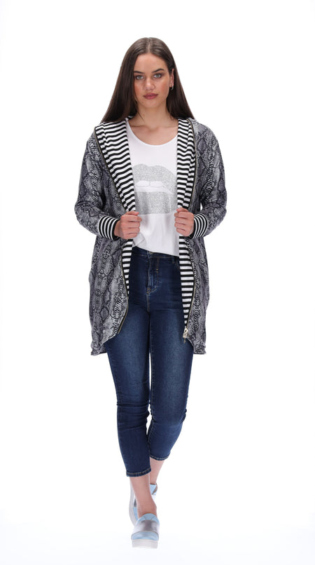 Bella Reversible Cardigan