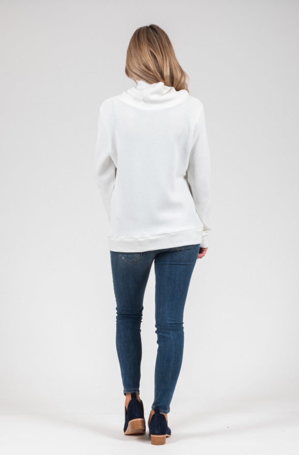 White Chalk - Max Jumper - White