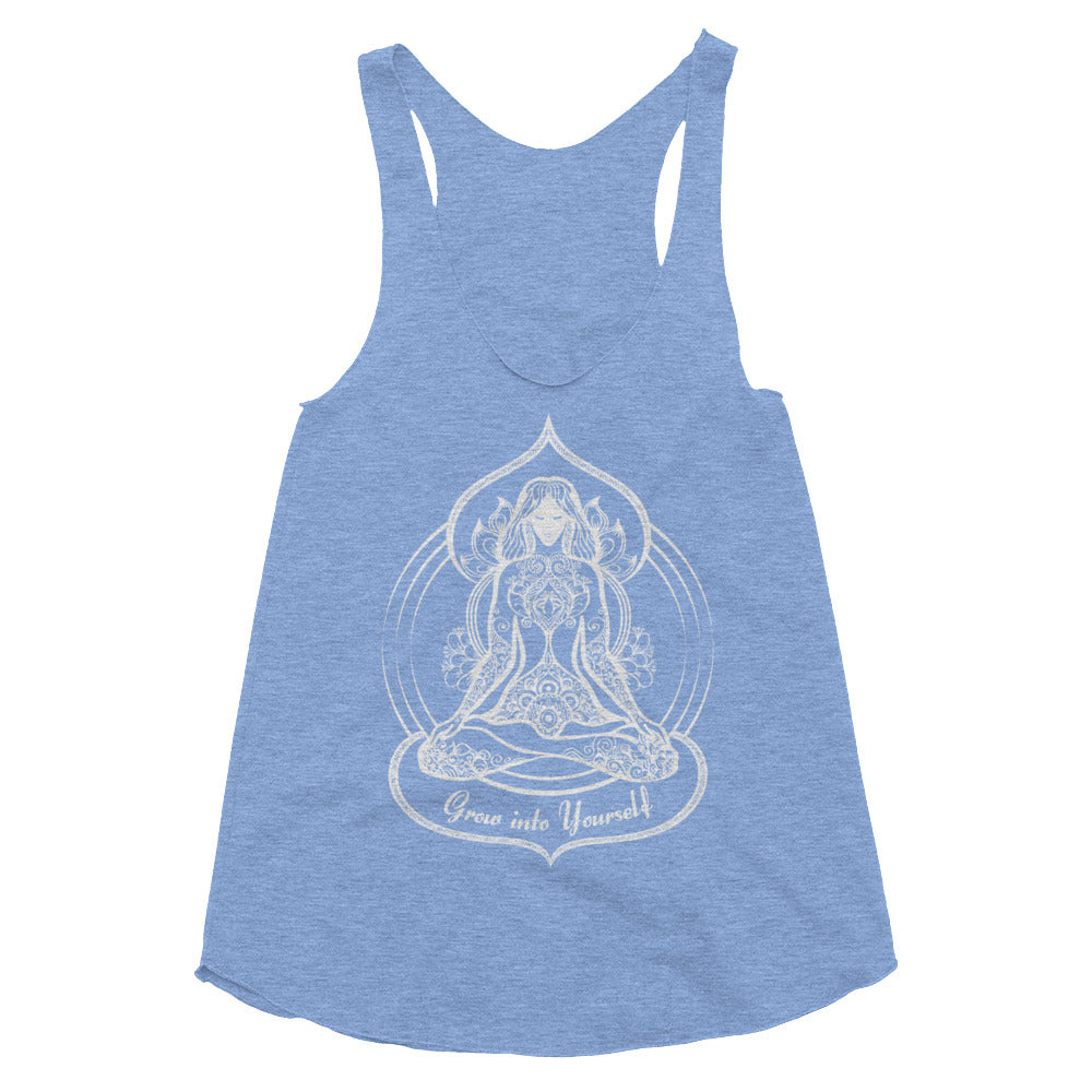 Grow Into Yourself Racerback Tank