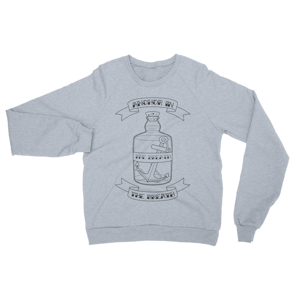 Anchor in the Breath Unisex Crewneck