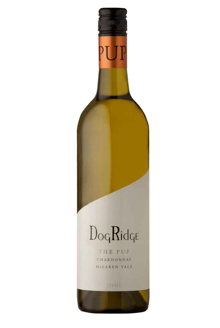 DogRidge THE PUP Chardonnay - 2018 DogHouse members buy one get one free - mailing list - buy a dozen get 6 free