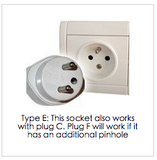 travel plug adapter to france europe