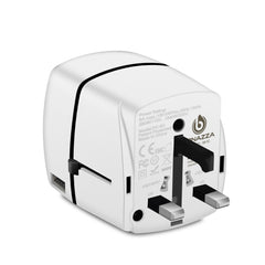 travel plug adapter typc G - UK, HONGKONG