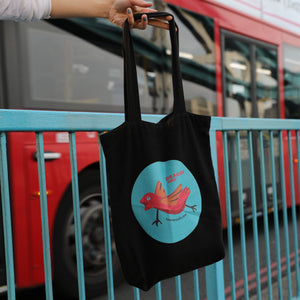 Dragonbird Tote Bag
