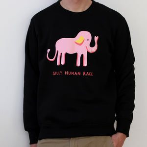 Silly Human Race Sweater
