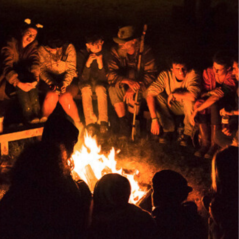 Have a Funny-Scary Campfire Party In this Halloween!