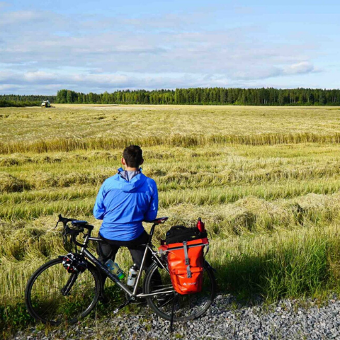 Bicycle Touring - A 700-kilometer Bike Trail through Scandinavia