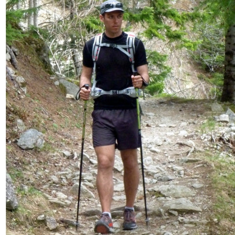 trekking poles 90-degree