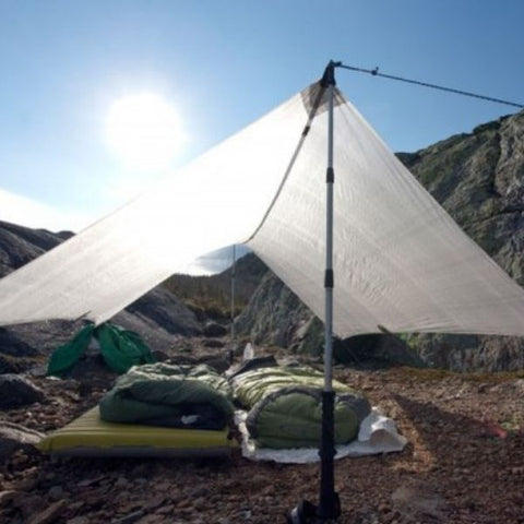 hiking poles tent tarp