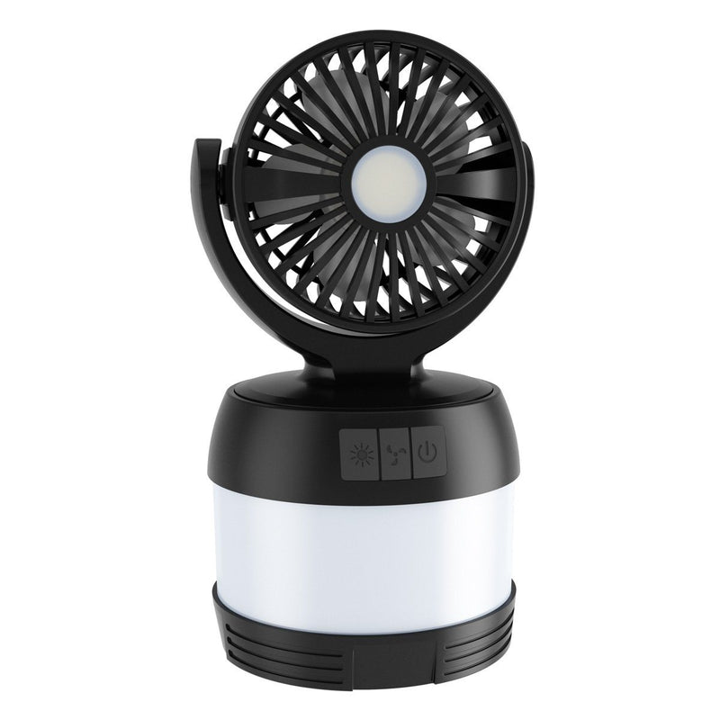 LED Camping Lantern with Mini Fan