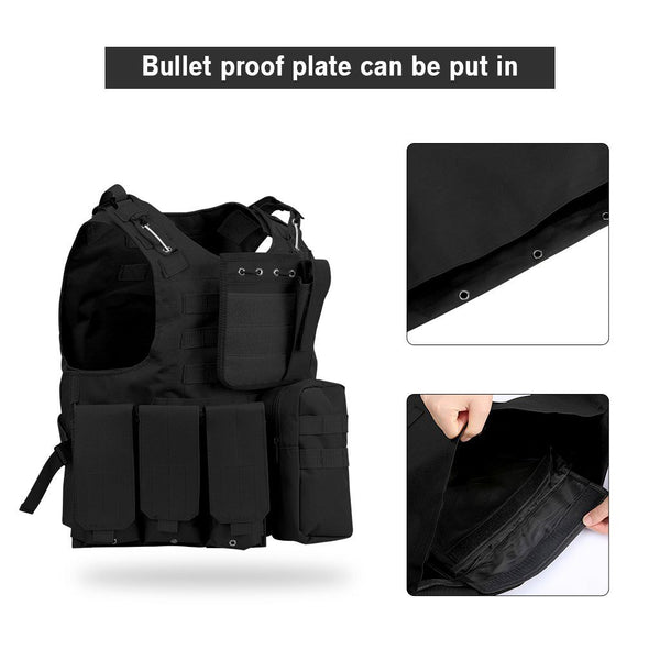 Molle Tactical Vest Modular Plate Carrier