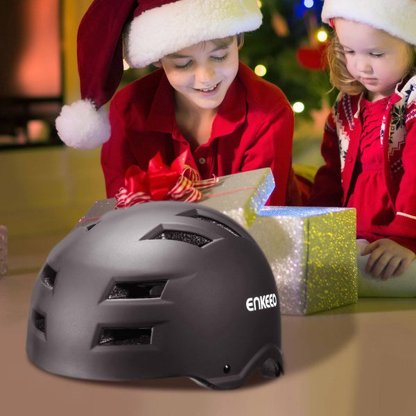 ENKEEO Kids Helmet, Children Safety Helmet for Cycle, Bike, Skate and More