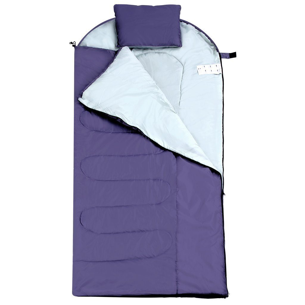Envelope Sleeping Bags with Compression Sack