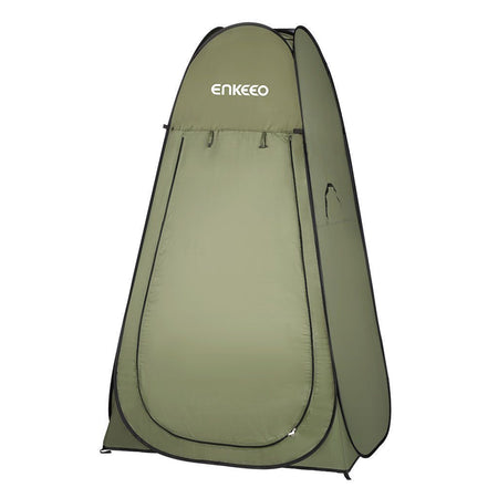 Enkeeo Portable Camping Chair Compact Ultralight Portable Folding Backpacking Chairs with Carry Bag