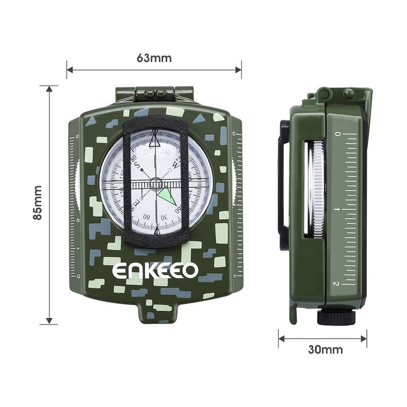 Multifunctional Military Compass