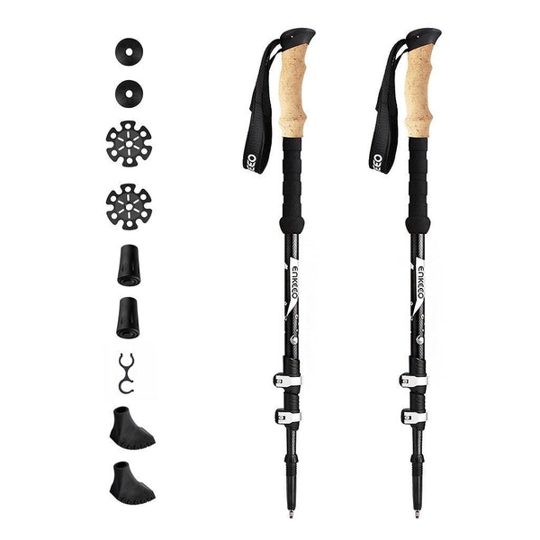 Height Adjustable Trekking Poles
