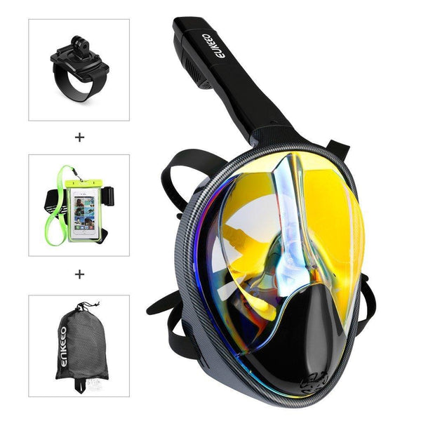 Full Face Snorkel Mask (UV 400 Protection)