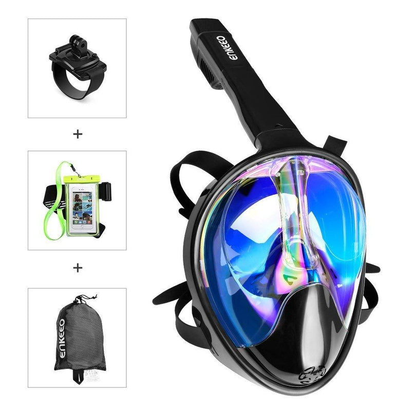 Full Face UV 400 Protection Snorkel Mask