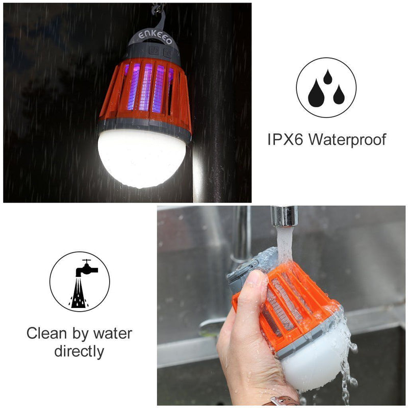 2-in-1 Camping Mosquito Zapper Lantern