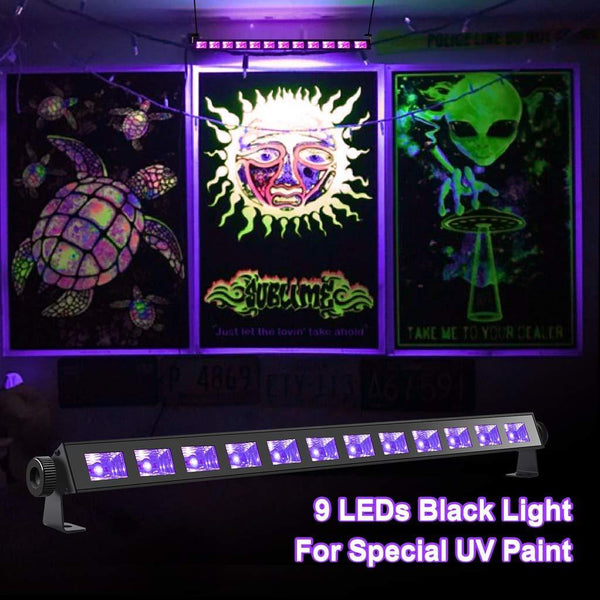 LED UV black light