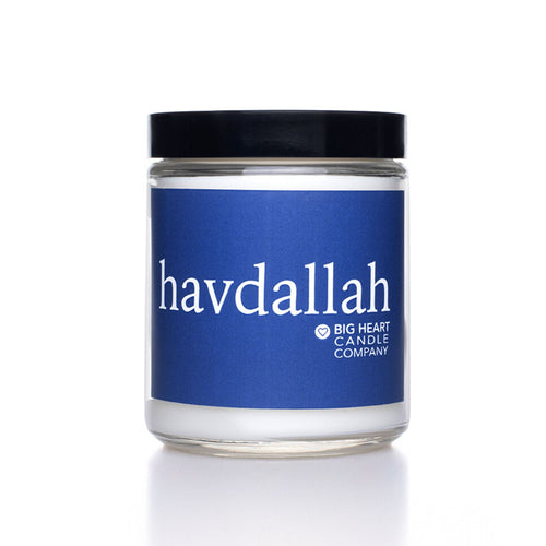 Havdallah Candle | Big Heart Candle Company