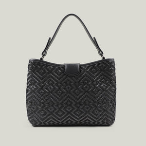 Tote bag Emerald Envy Black